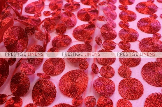 Coins Table Linen - Red
