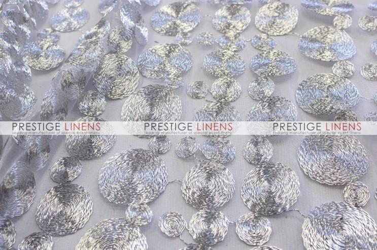 Coins Table Linen Silver Prestige Linens