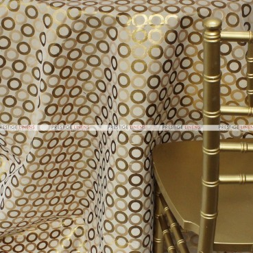 Contempo Table Linen - Gold/Ivory