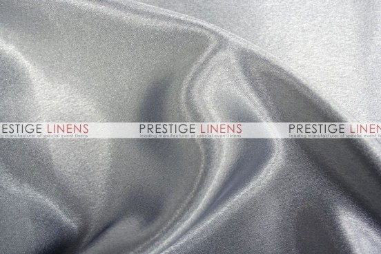 Crepe Back Satin (Japanese) Table Linen - 1126 Silver