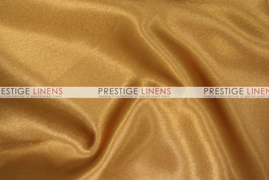 Crepe Back Satin (Japanese) Table Linen - 227 N Gold