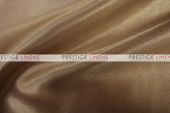 Crepe Back Satin (Japanese) Table Linen - 330 Cappuccino
