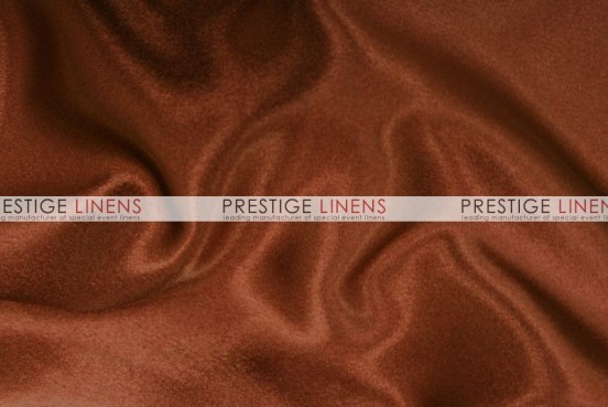 Crepe Back Satin (Japanese) Table Linen - 344 M Rust