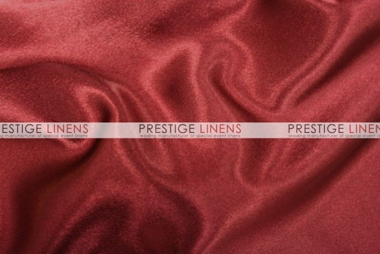 Crepe Back Satin (Japanese) Table Linen - 627 Cranberry