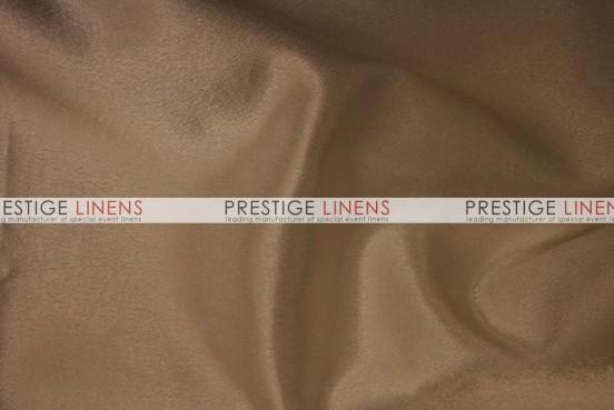 Crepe Back Satin (Korean) Table Linen - 135 Sand