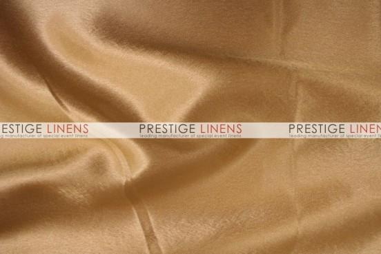 Crepe Back Satin (Korean) Table Linen - 226 Gold