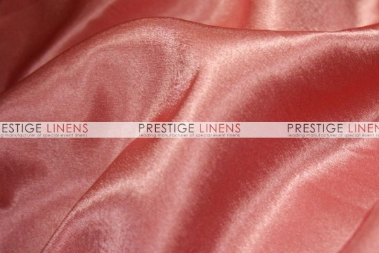 Crepe Back Satin (Korean) Table Linen - 432 Coral