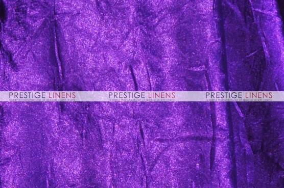 Crushed Bichon Table Linen - 1032 Purple