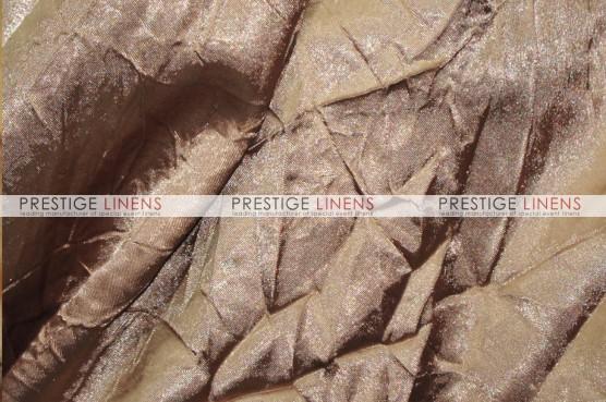 Crushed Bichon Table Linen - 326 Khaki