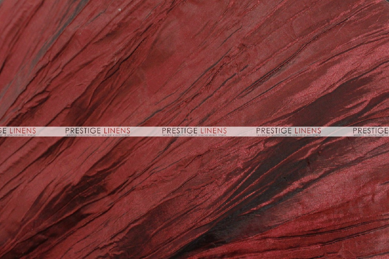 Red Crushed Taffeta