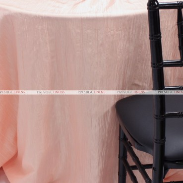 Crushed Taffeta Table Linen - 567 Blush Pink