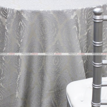 Delta Global Table Linen - Silver