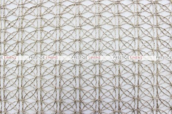 Dream Catcher Table Linen - Fawn (Sheer)
