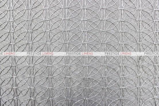 Dream Catcher Table Linen - Silver (Taffeta)