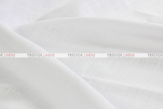 Dublin Linen Table Linen - White