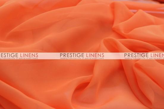 Chiffon Draping - Orange