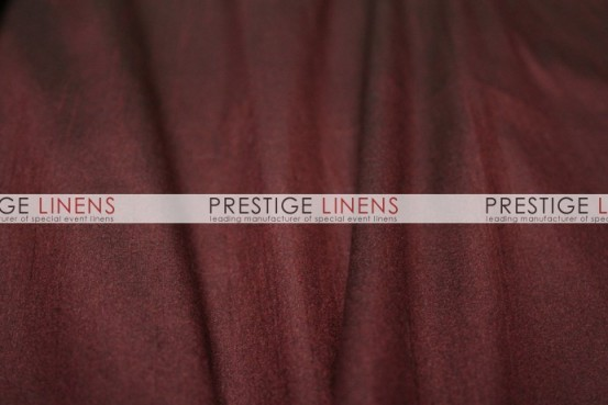Faux Dupioni Silk Table Linen - 2090 Burgundy