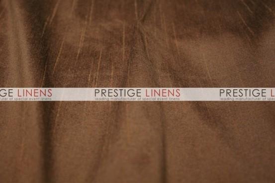 Faux Dupioni Silk Table Linen - 2042 Brown