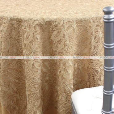 French Lace Table Linen - Antique