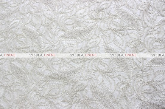 French Lace Table Linen - Ivory