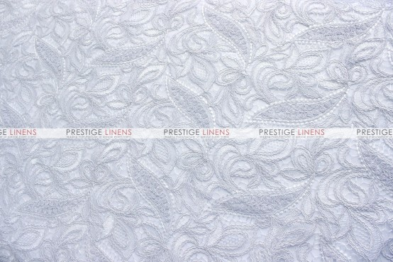 French Lace Table Linen - White