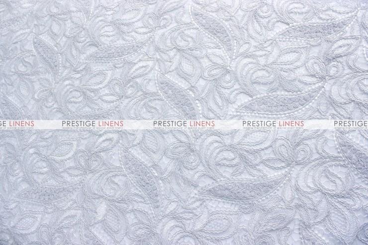 French Lace Table Linen White Prestige Linens