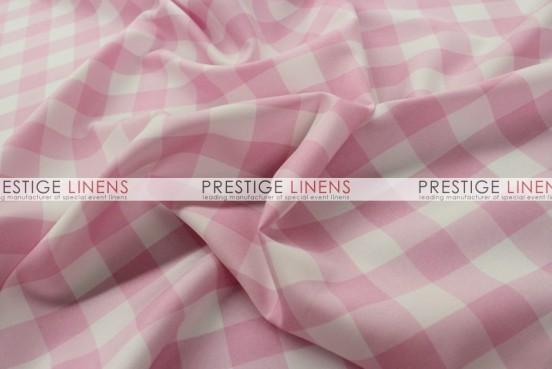 Gingham Buffalo Check Table Linen - Pink