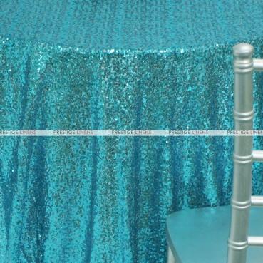 Glitz Table Linen - Aqua