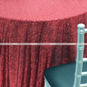 Glitz Table Linen - Burgundy
