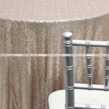 Glitz Table Linen - Champagne