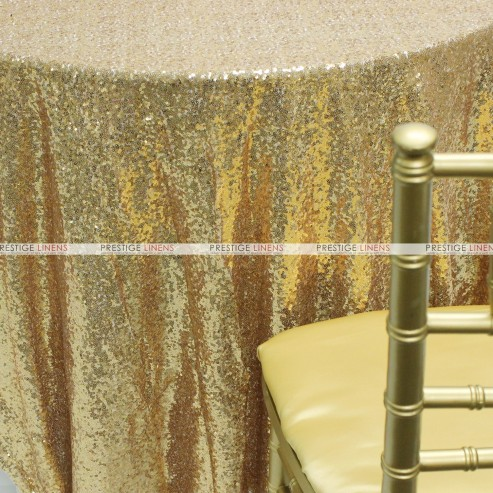 Glitz Table Linen - Creative Gold