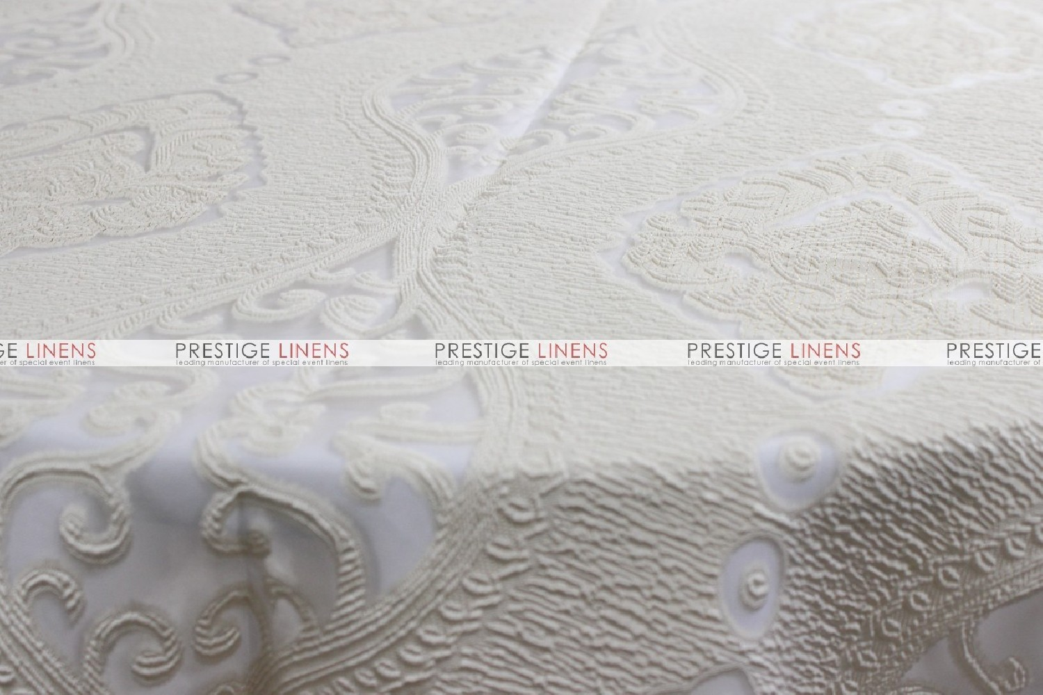 ... Imperial Damask Table Linen   Ivory