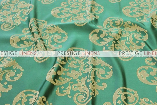 Insignia Jacquard Table Linen - Emerald