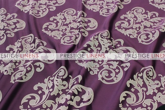Insignia Jacquard Table Linen - Plum
