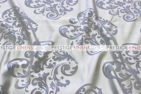 Insignia Jacquard Table Linen - Silver