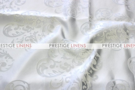 Insignia Jacquard Table Linen - White
