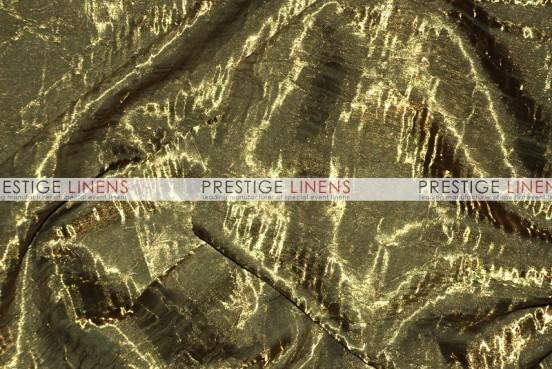 Iridescent Crush Table Linen - Bronze