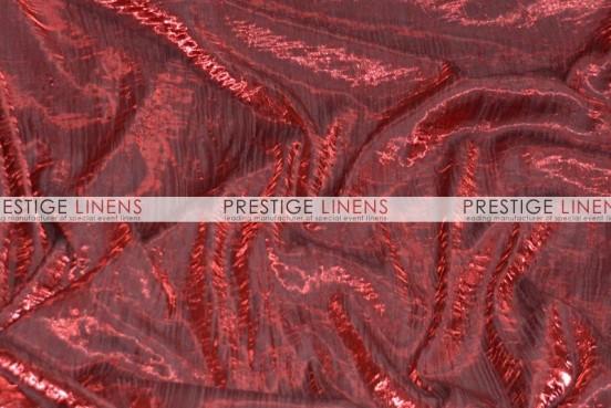 Iridescent Crush Table Linen - Burgundy