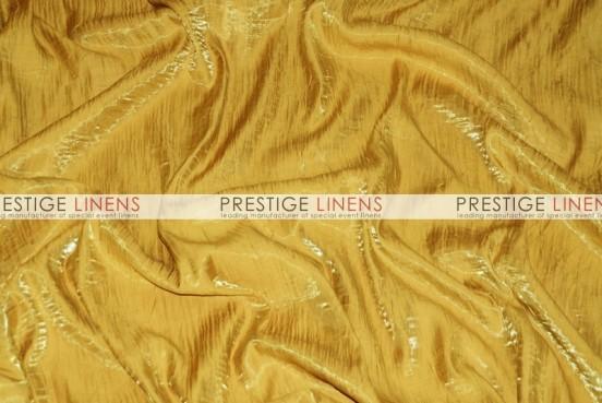 Iridescent Crush Table Linen - Dk Gold