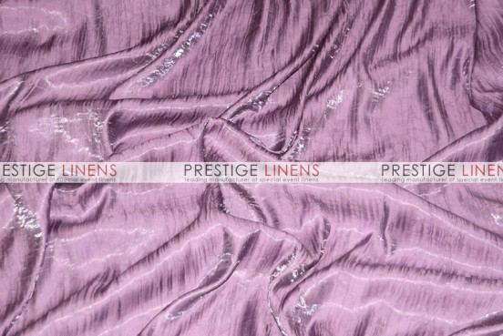 Iridescent Crush Table Linen - Dk Lilac