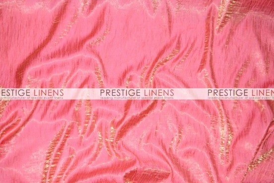 Iridescent Crush Table Linen - Flamingo