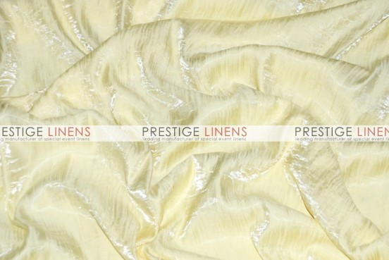 Iridescent Crush Table Linen - Ivory
