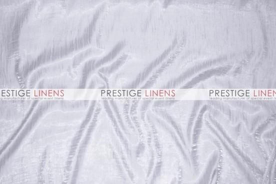 Iridescent Crush Table Linen - Lt Silver