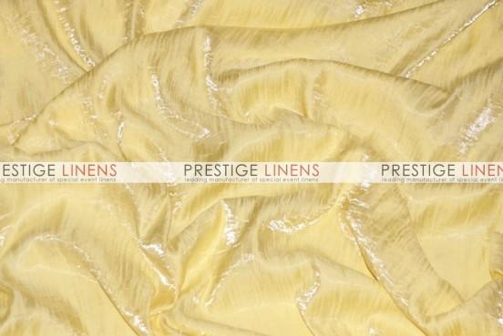Iridescent Crush Table Linen - Lt Yellow