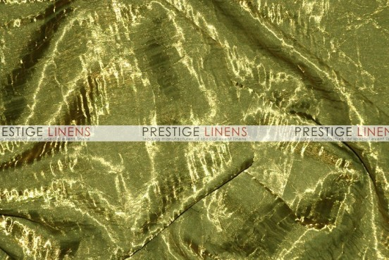Iridescent Crush Table Linen - Olive