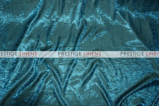Iridescent Crush Table Linen - Teal