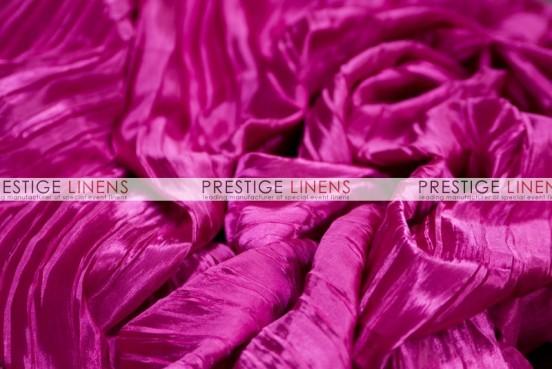 Italian Crush Satin Table Linen - Fuchsia