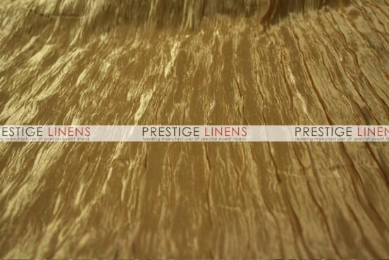 Italian Crush Satin Table Linen - Gold