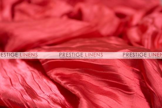 Italian Crush Satin Table Linen - Red