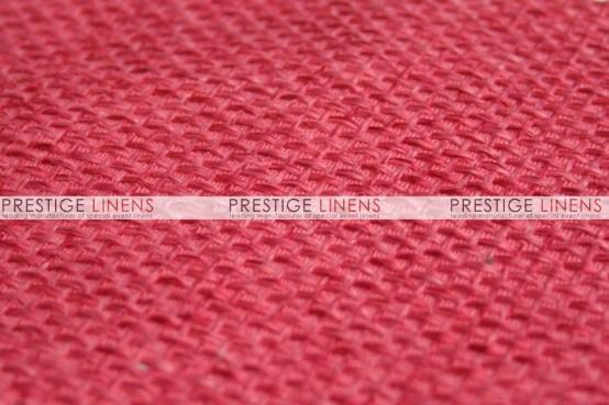 Jute Linen Table Linen - Coral